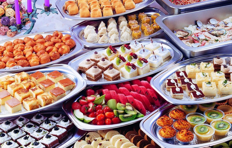 Photo wallpaper Cake, Food, Yummy