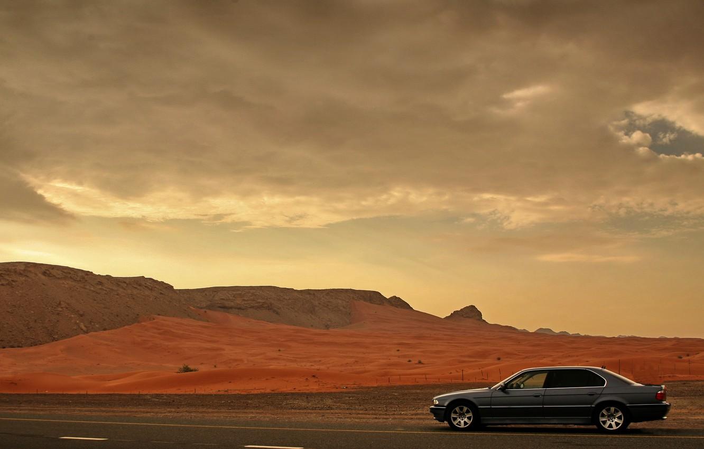 Photo wallpaper BMW, Boomer, BMW, E38, 740il