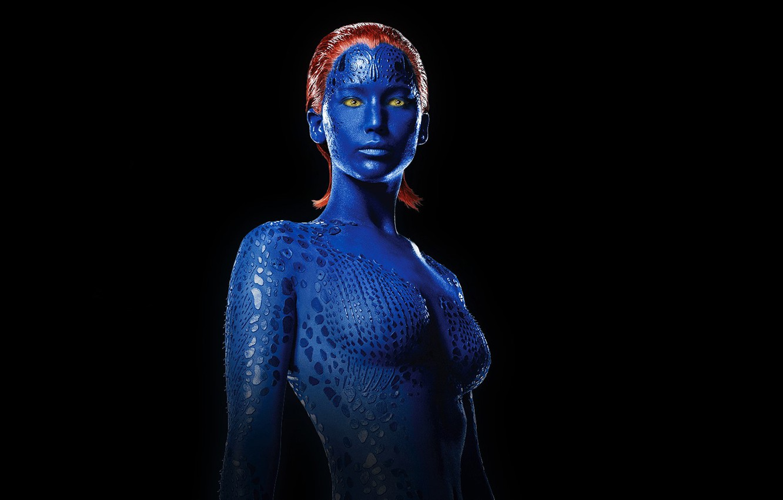 Photo wallpaper Mystic, Jennifer Lawrence, Jennifer Lawrence, X-men: Days of future past, X-Men: Days of Future Past
