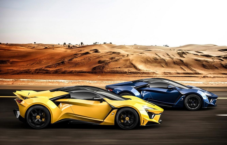 Photo wallpaper supercar, race, SuperSport, W-Motors, Fenyr