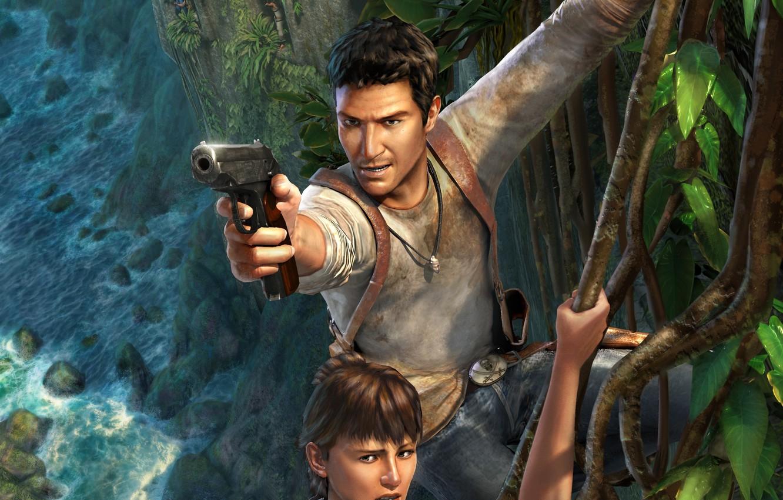 Wallpaper Game Naughty Dog Nathan Drake Uncharted Drake S