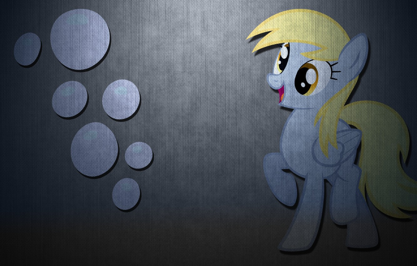 Wallpaper Carbon My Little Pony Derpy Hooves Images For