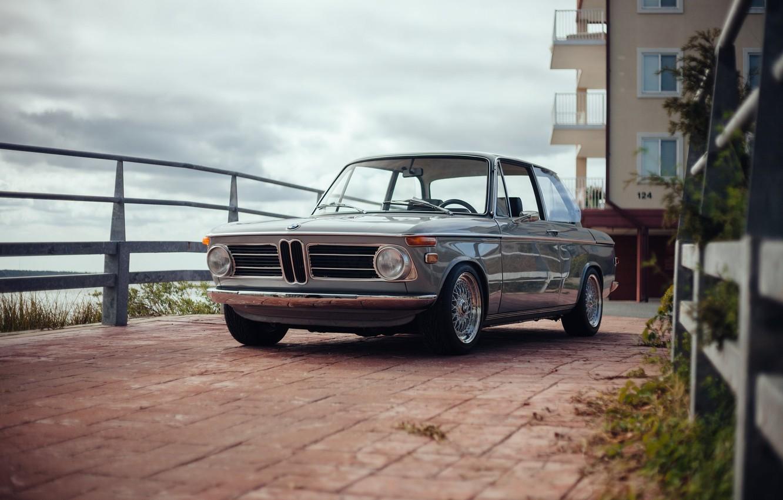 Photo wallpaper machine, BMW, BMW, 1969, classic, 2002, car, E10