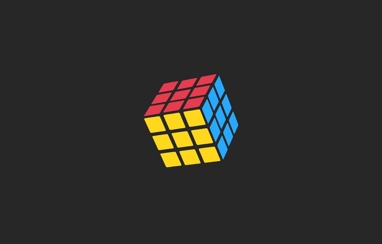 Photo wallpaper Rubik's cube, puzzle, task