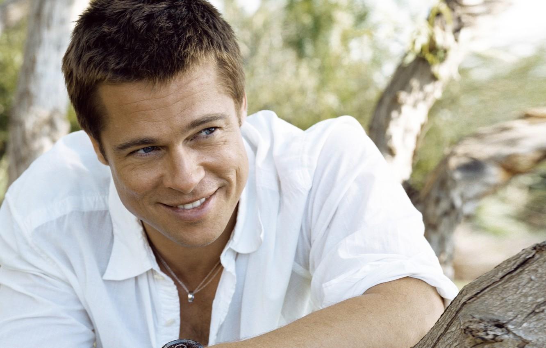 Photo wallpaper face, watch, male, Brad Pitt, Brad Pitt, actor, producer, tag heauer