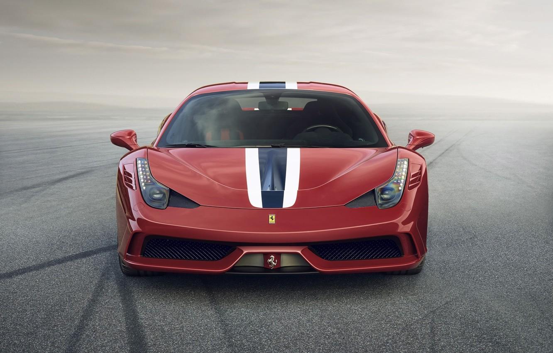 Photo wallpaper Ferrari, 458, Italy, Speciale, 2014