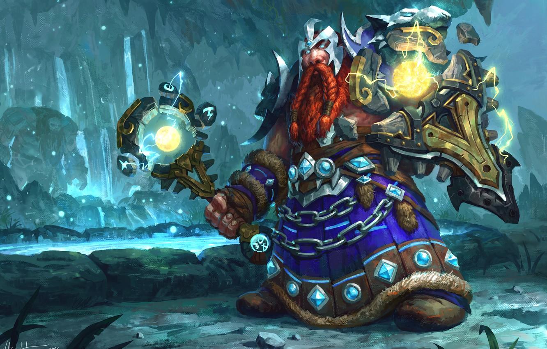 Wallpaper World Of Warcraft Warcraft Blizzard Dwarf Wow Art