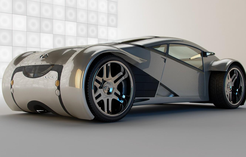 Photo wallpaper model, new, Lexus