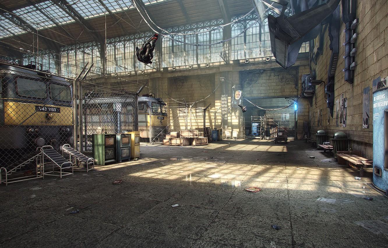 Photo wallpaper rendering, game, Half-Life 2, City 17, UDK, Unreal Engine, Logithx