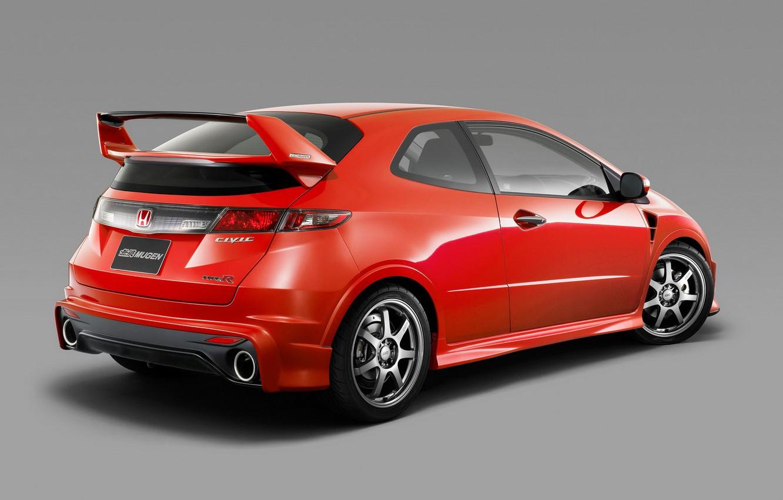 Photo wallpaper Red, Honda, Sport, Mugen