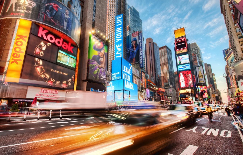 Wallpaper Usa America Square New York Times Square