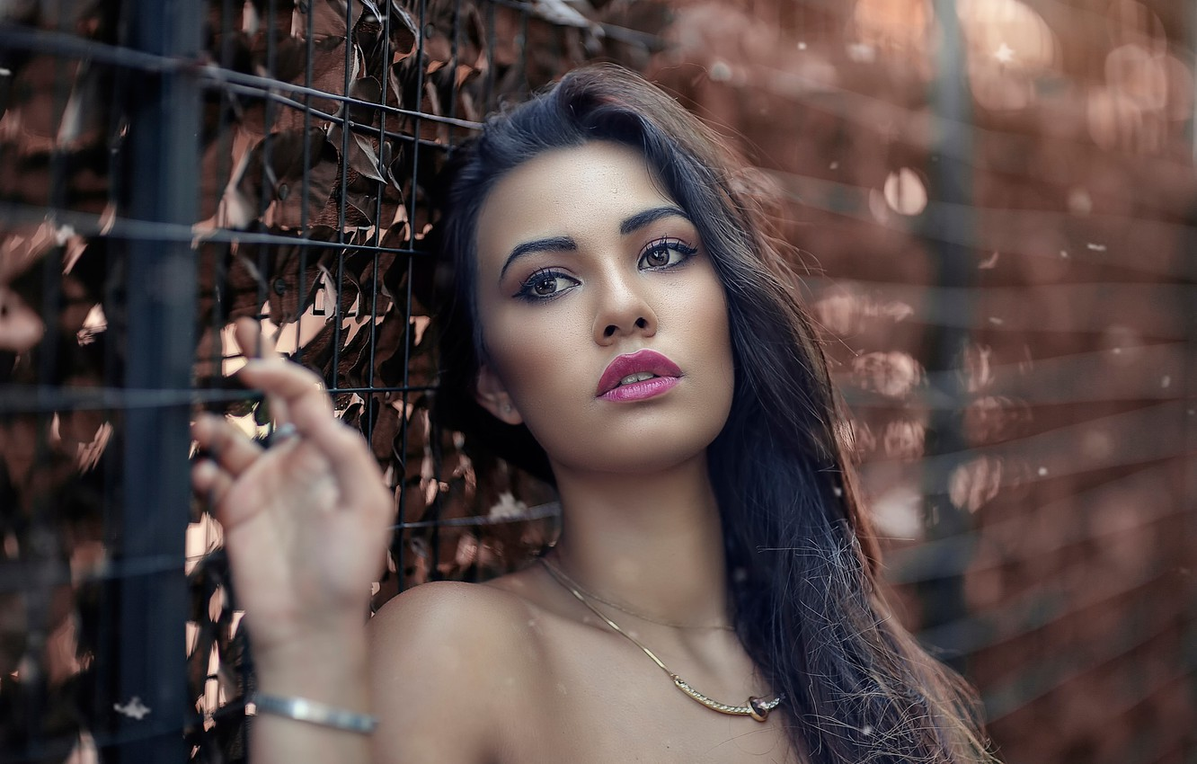 Photo wallpaper look, makeup, Alessandro Di Cicco, Baddest girl in town