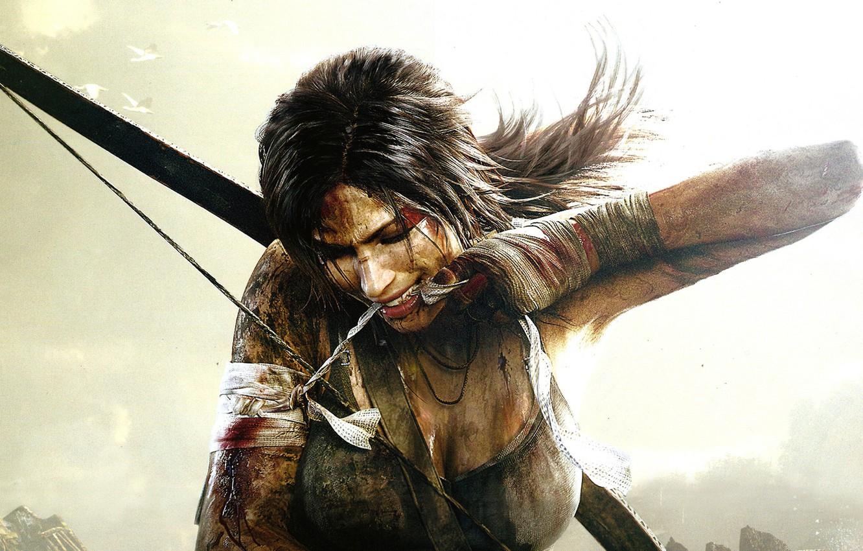 Photo wallpaper Tomb Raider, Lara Croft, Lara Croft