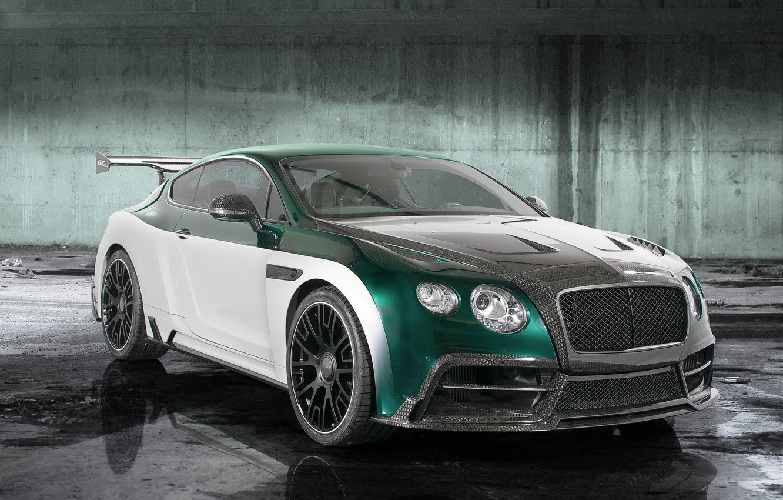 Photo wallpaper Bentley, Continental, Race, Bentley, continental, Mansory, 2015