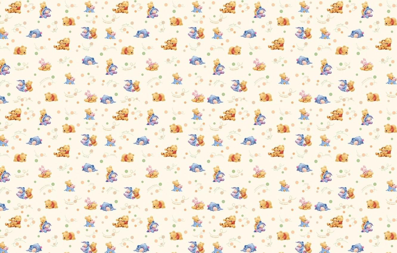 Wallpaper Texture Friends Childrens Disney Winnie The Pooh