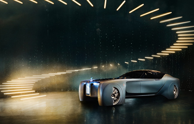 Photo wallpaper Rolls-Royce, Vision, Next 100, rolls-Royce