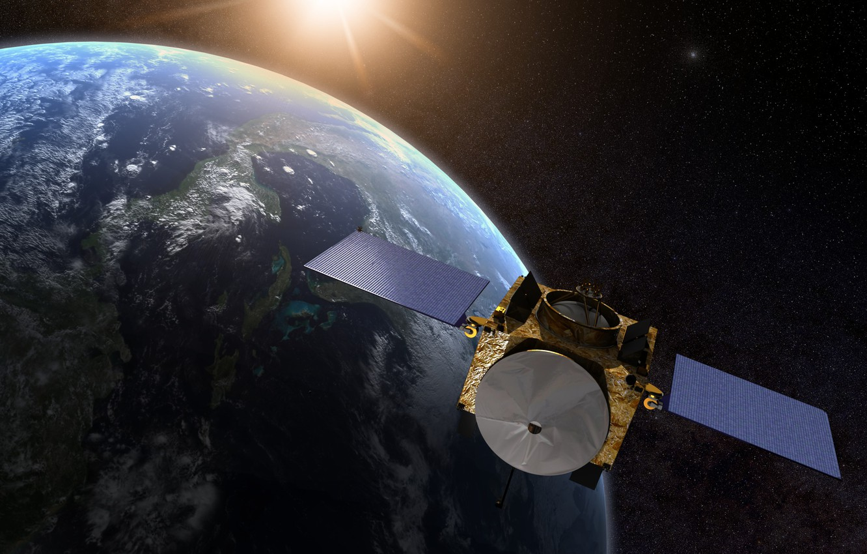 Photo wallpaper stars, surface, earth, planet, OSIRIS-REx, lander