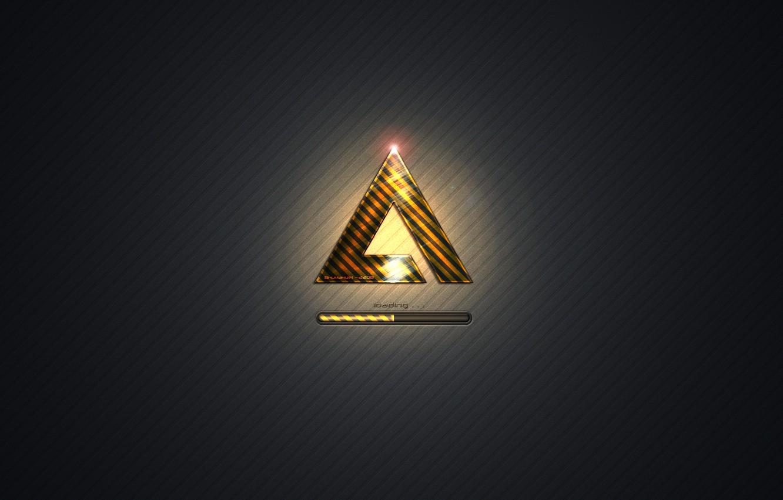 Photo wallpaper music, logo, player, Xpand, AIMP3, AIMP, AIMP
