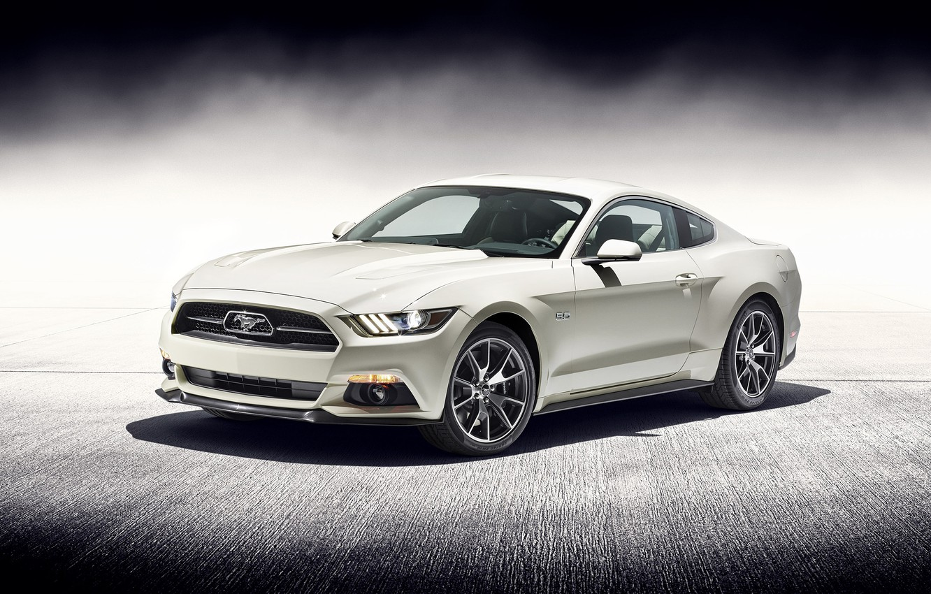 Photo wallpaper Mustang, Ford, 2015, 50 Year Limited Edition