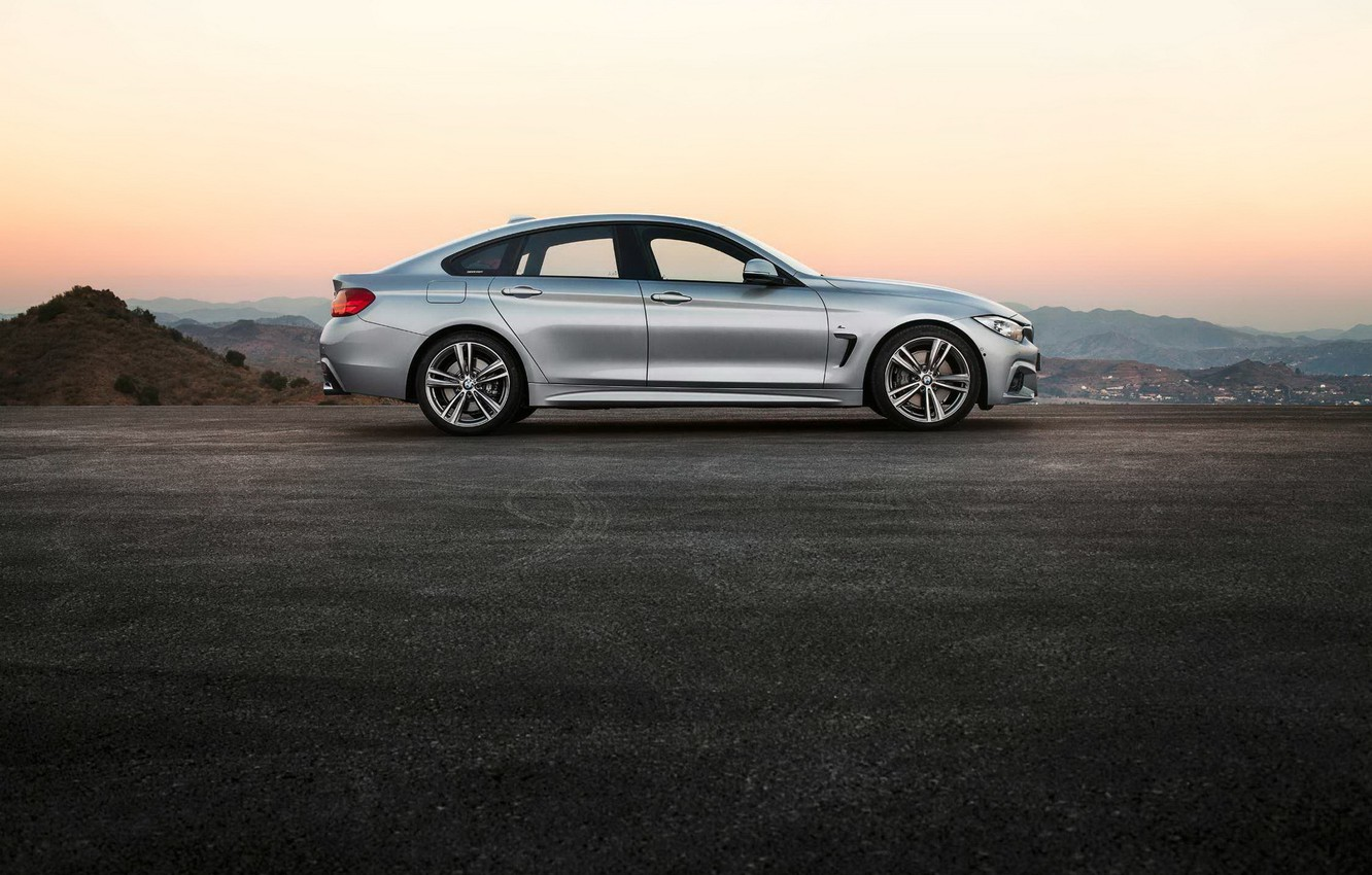 Photo wallpaper the evening, BMW, Gran Coupe, 2014, 4 Series