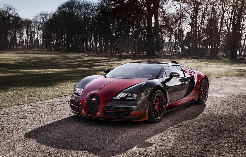 Photo wallpaper Bugatti, Veyron, Bugatti, Veyron, Grand Sport, Vitesse, 2015, the Final