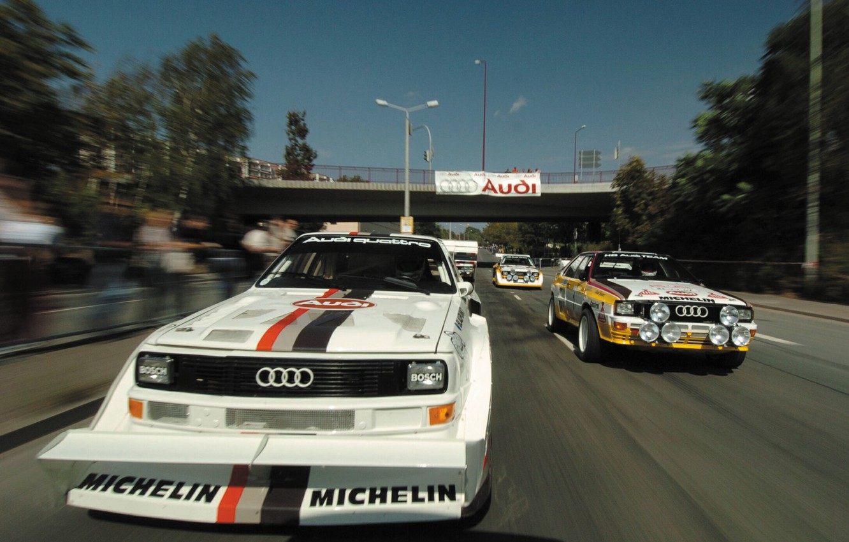 Photo wallpaper Audi, Sport, Race, Track
