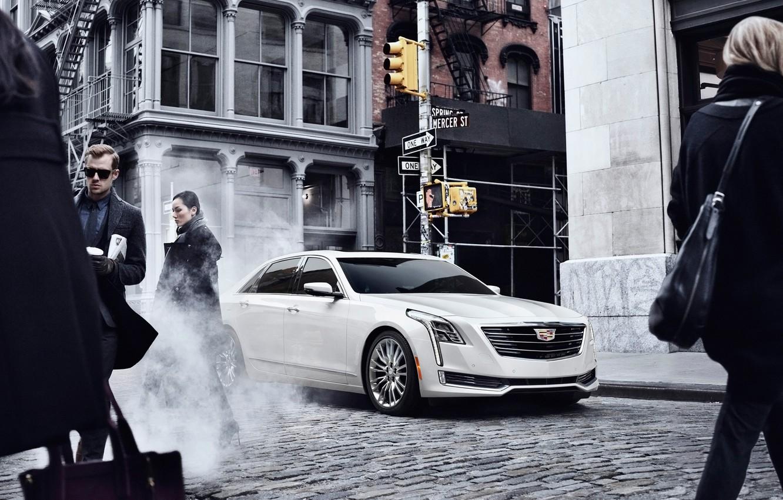 Photo wallpaper Cadillac, cars, 2016, CT6, Cadillac CT6 2016, Cadillac cars, Cadillac 2016