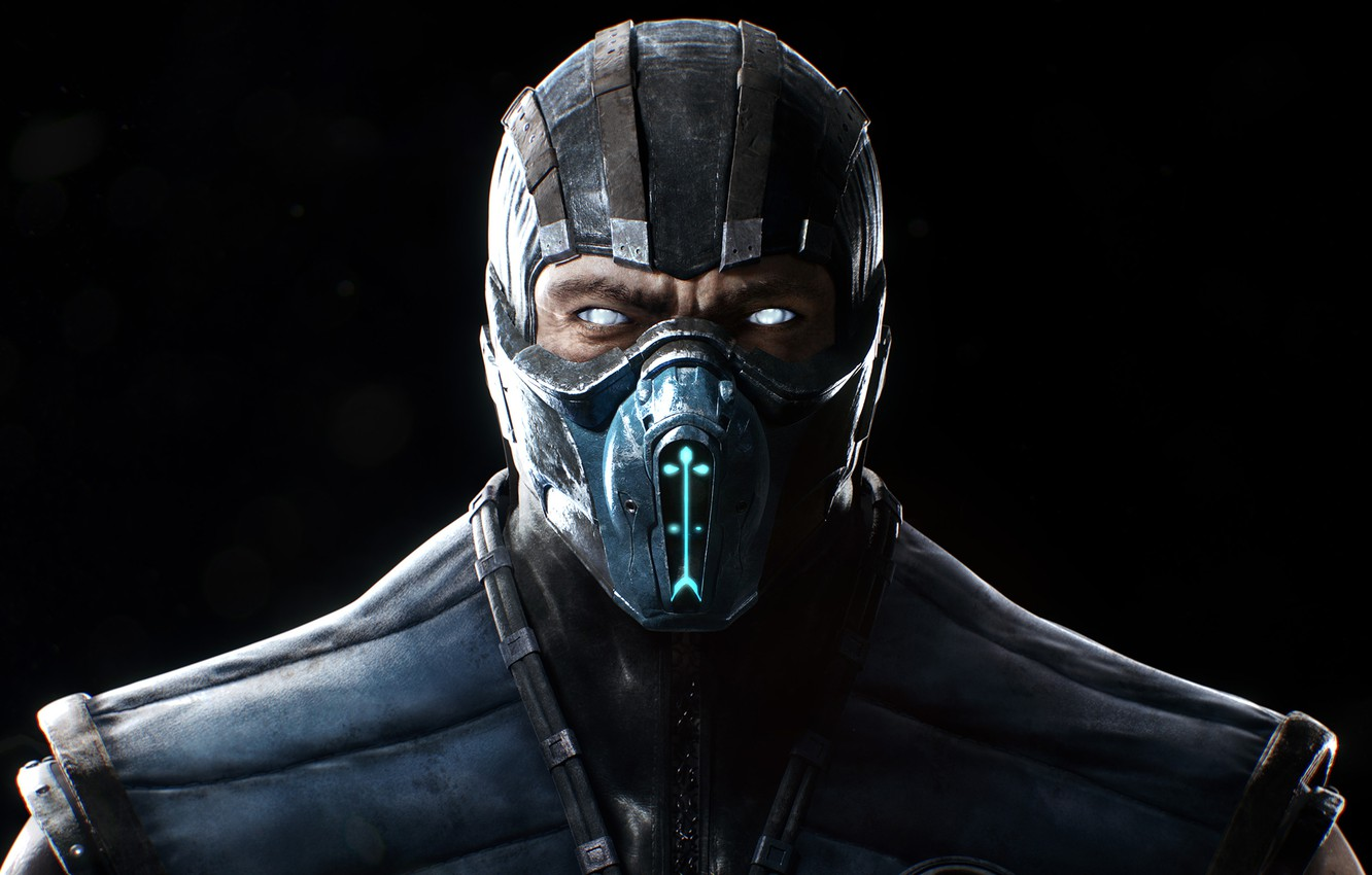 Photo wallpaper Look, Mask, Sub-Zero, Sub-Zero, Equipment,