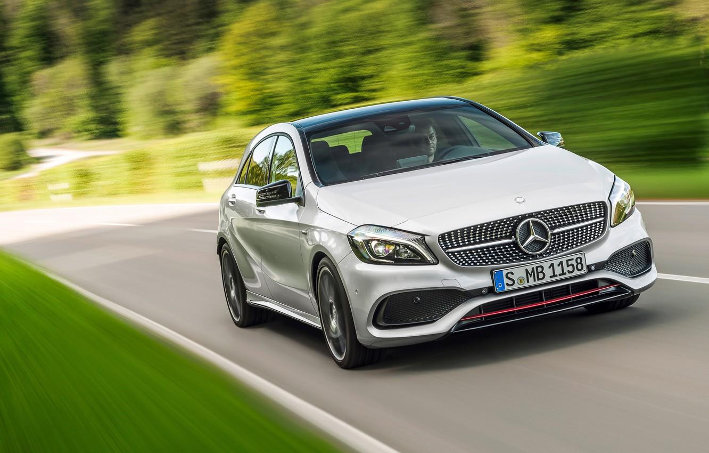 Photo wallpaper Mercedes-Benz, AMG, Line, Sport, 2015, A-250