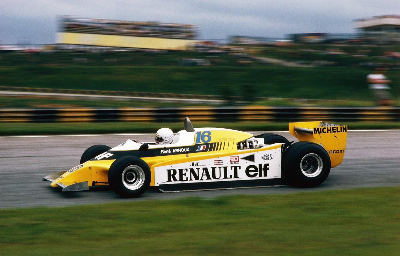 Wallpaper Renault Sport Retro F1 Rene Arnoux Images For