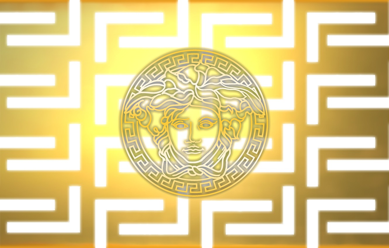 Wallpaper Logo Brand Brend Cold Versace Images For