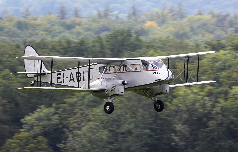 Photo wallpaper UK, first, airliner, De Havilland, D.H.84 Drago, for low-fare lines