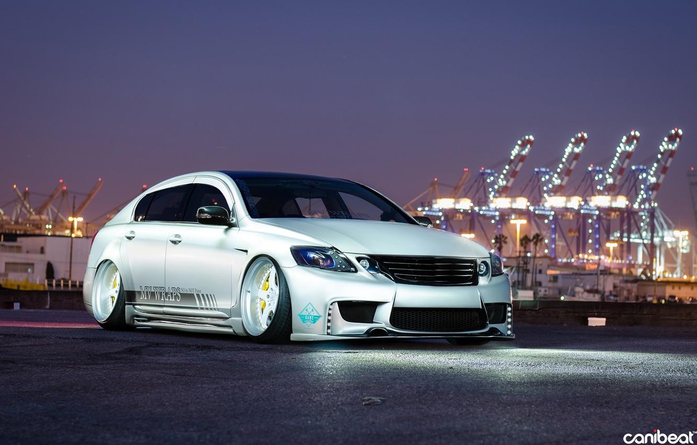 Photo wallpaper car, tuning, tuning, Lexus, stance, Lexus GS300