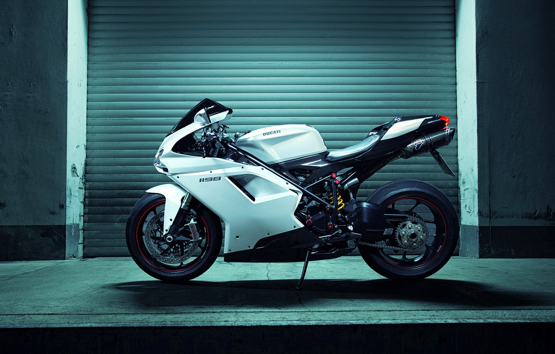 Photo wallpaper Race, Ducati, Shooting, Side, Italian, Superbike, Motocycle, 1198, Nigth