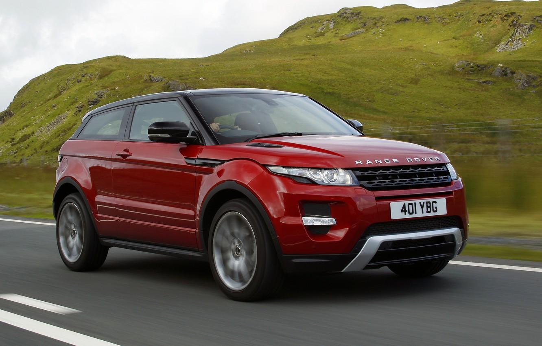 Photo wallpaper road, auto, Land Rover, Range Rover, Evoque