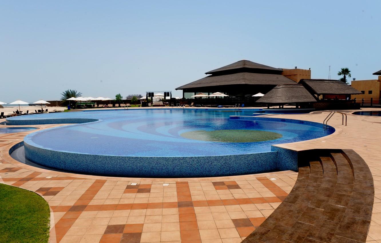 Wallpaper Beach Bar Pool Pool Bar Sun Loungers