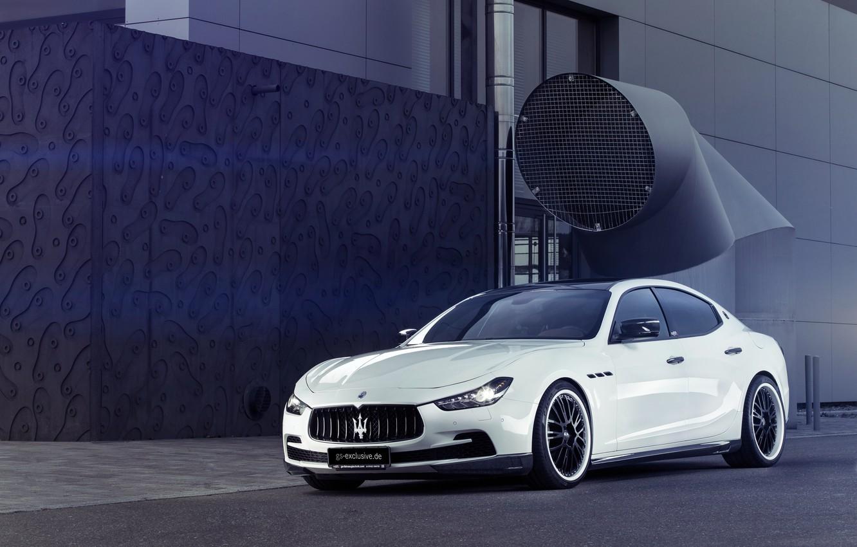 Photo wallpaper car, evo, maserati ghibli, gs exclusive