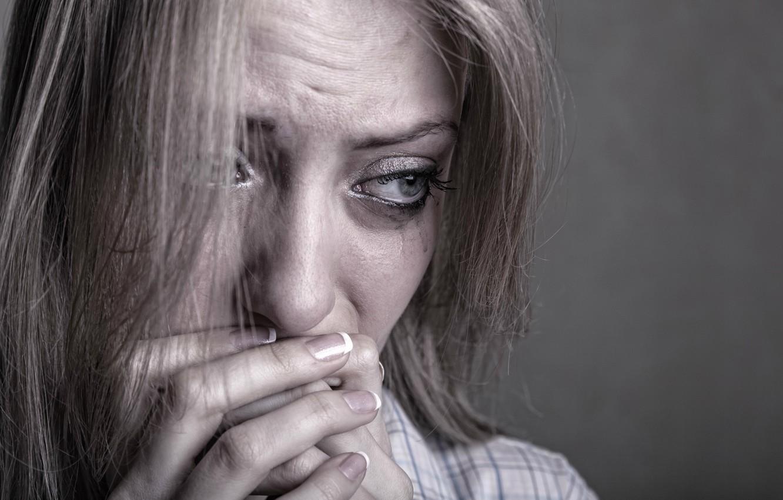 Wallpaper Depression Tears Fear Sad Girl Anxiety Images For Desktop Section Nastroeniya Download