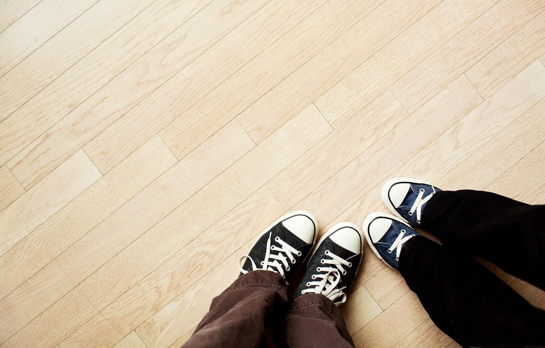 Photo wallpaper classic, floor, pants, cloth slippers