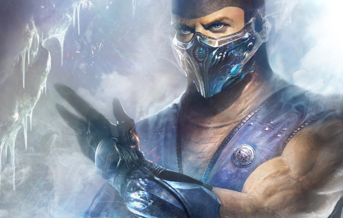 Wallpaper Ice Mortal Kombat Ninja Sub Zero Images For Desktop