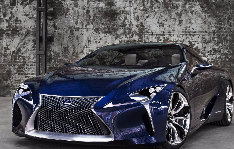 Photo wallpaper concept, lexus, blue, Lexus, LF-LC, LF-LZW