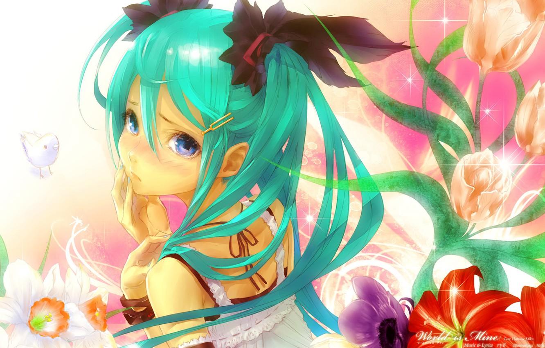 Photo wallpaper figure, anime, girl