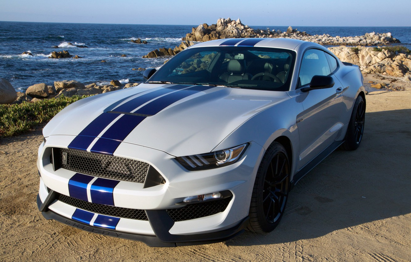 Photo wallpaper Mustang, Ford, Shelby, Mustang, Ford, GT350, 2015