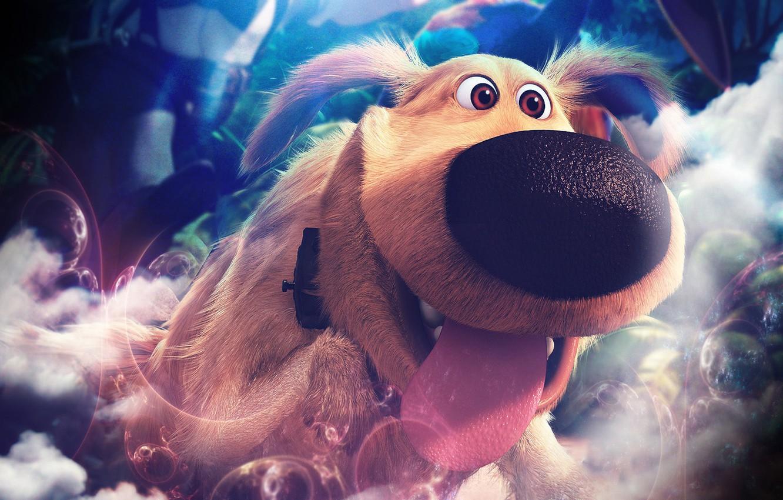 Photo wallpaper smile, dog, Up, Pixar