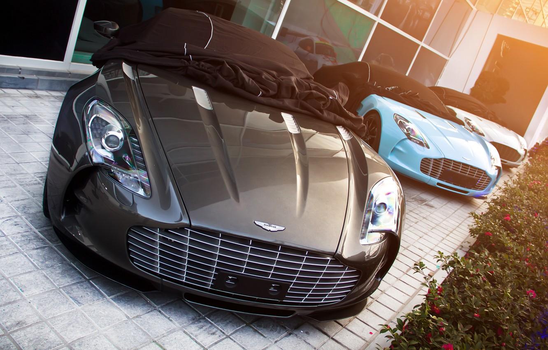 Photo wallpaper Aston Martin, One-77, supercars
