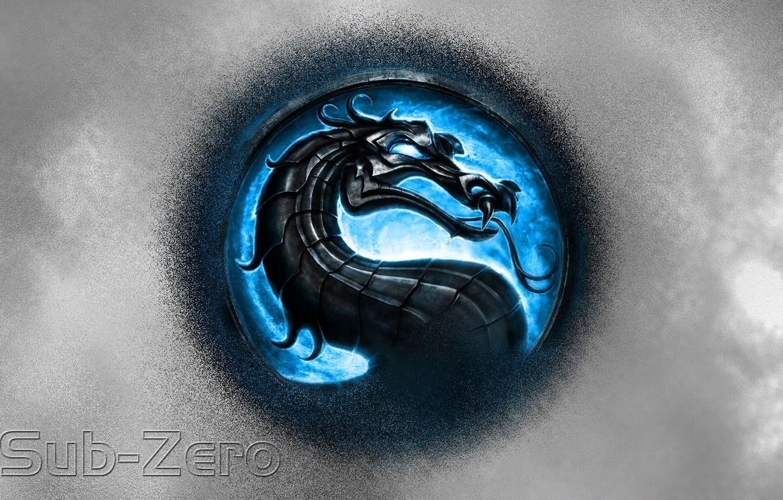 Wallpaper Logo Blue Logo Mortal Kombat Images For Desktop