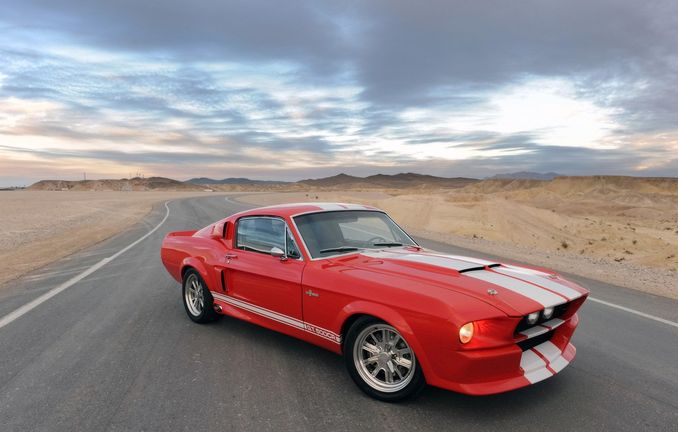 Photo wallpaper Shelby, Classic, GT500CR, Recreations