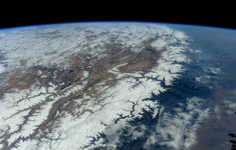 Photo wallpaper Earth, Mountains, Himalayas