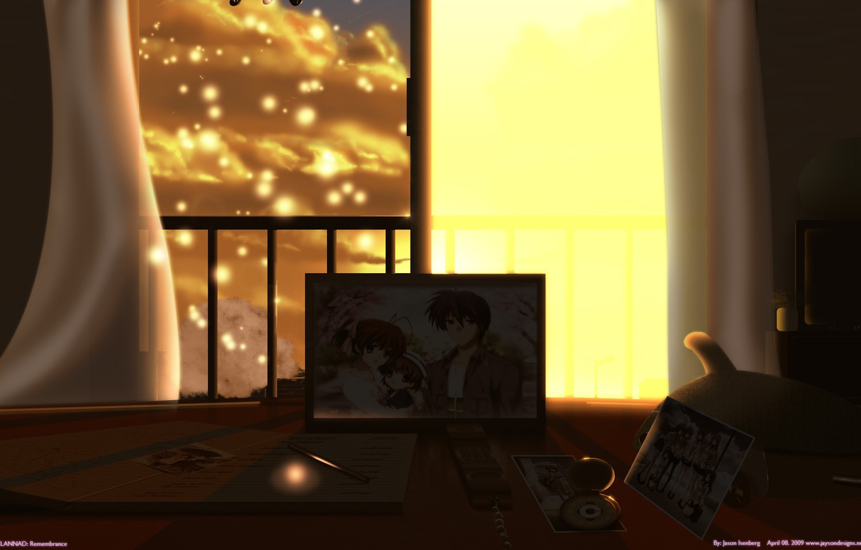 Photo wallpaper photo, Clannad, Clannad