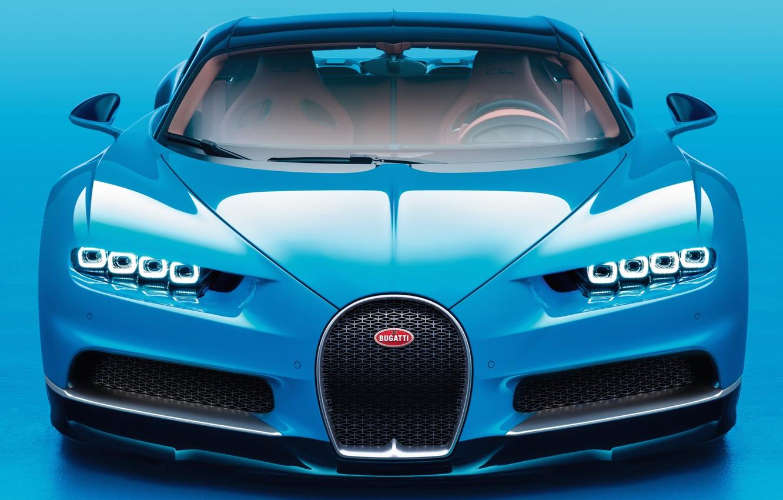 Photo wallpaper Bugatti, avto, 2016, chiron